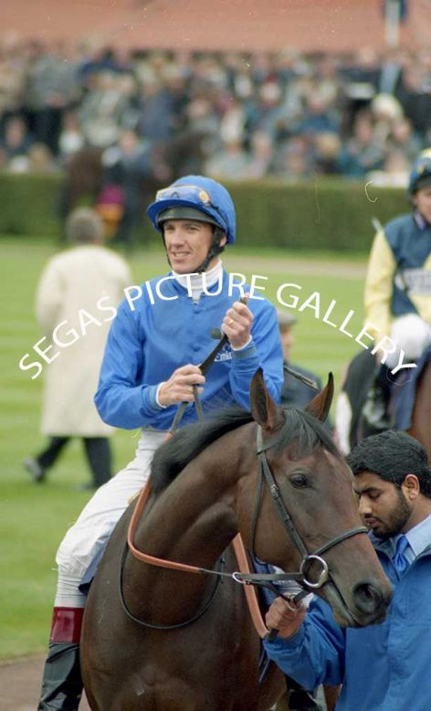 The Jockey Frankie Dettori @ Newmarket on the 16th October 2004